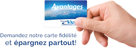 Carte avantages Vasco